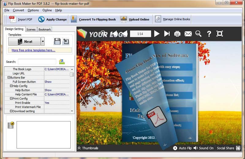 Download flipbook creator professional free software for Create software online