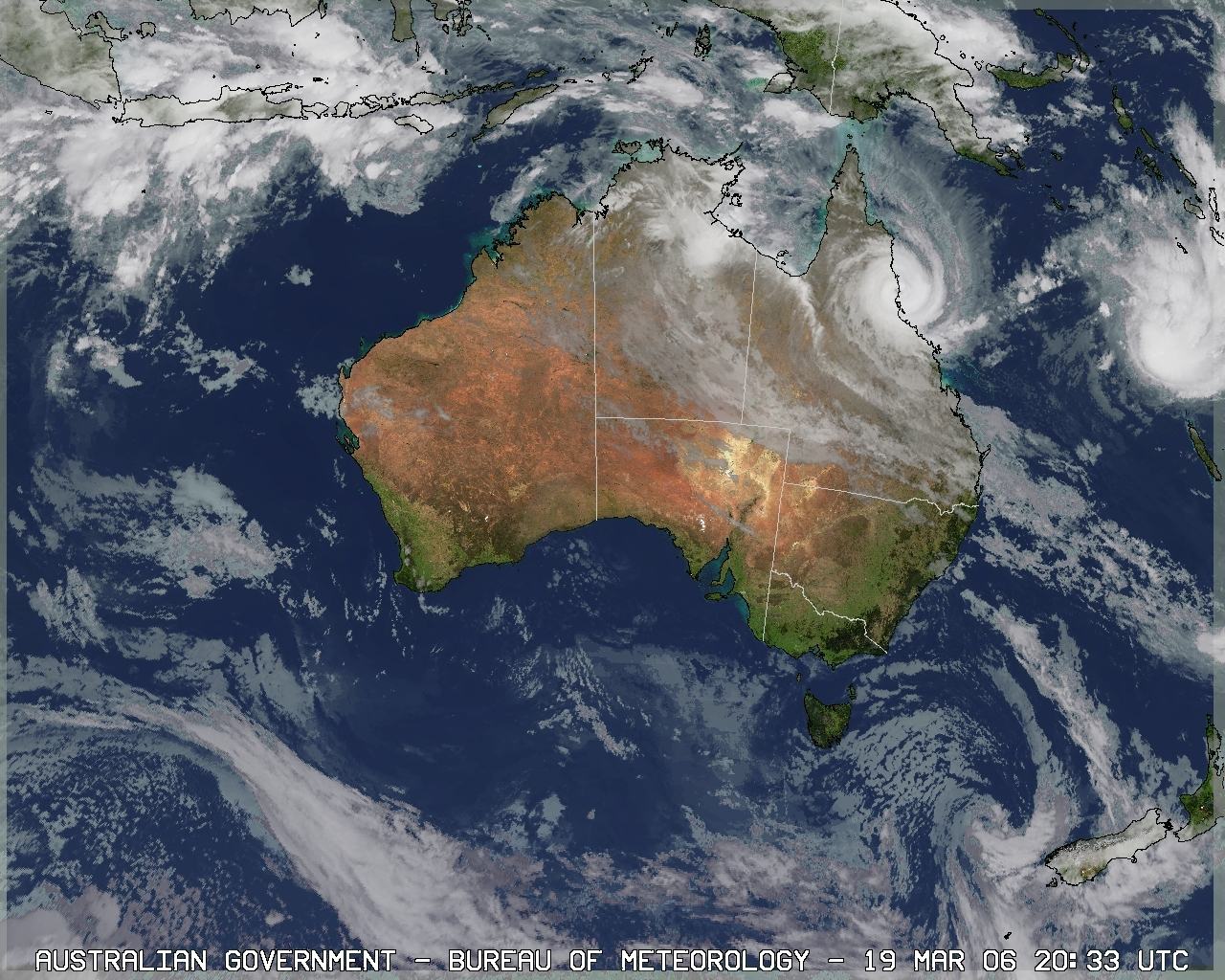 Up to date satellite images in Sydney